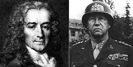 Voltaire and Patton