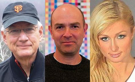 Tom Peters, Chris Anderson, Paris Hilton