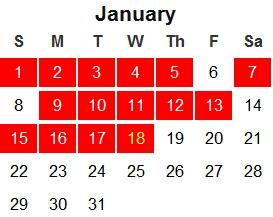 January Exercise